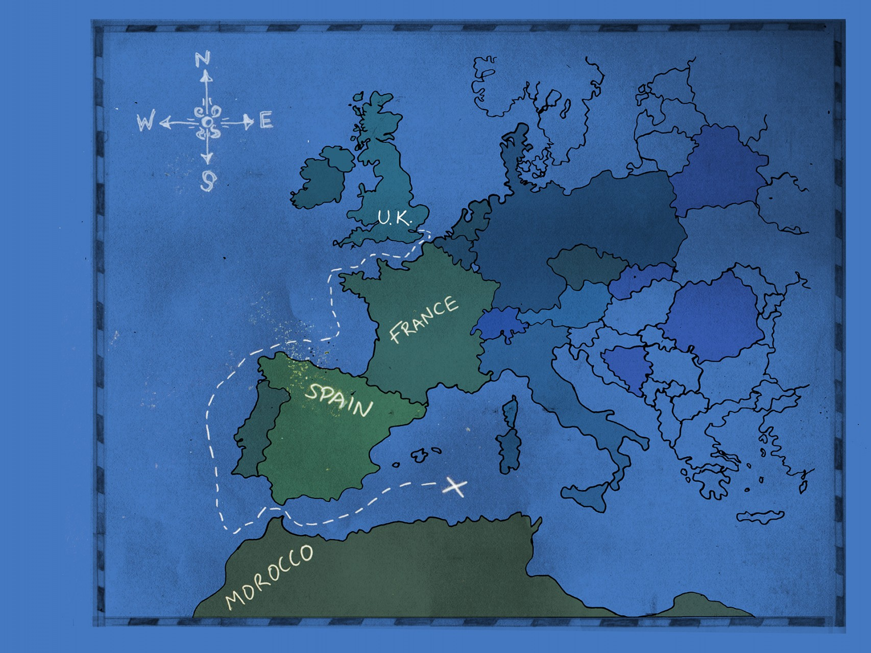 page 14 -map of europe