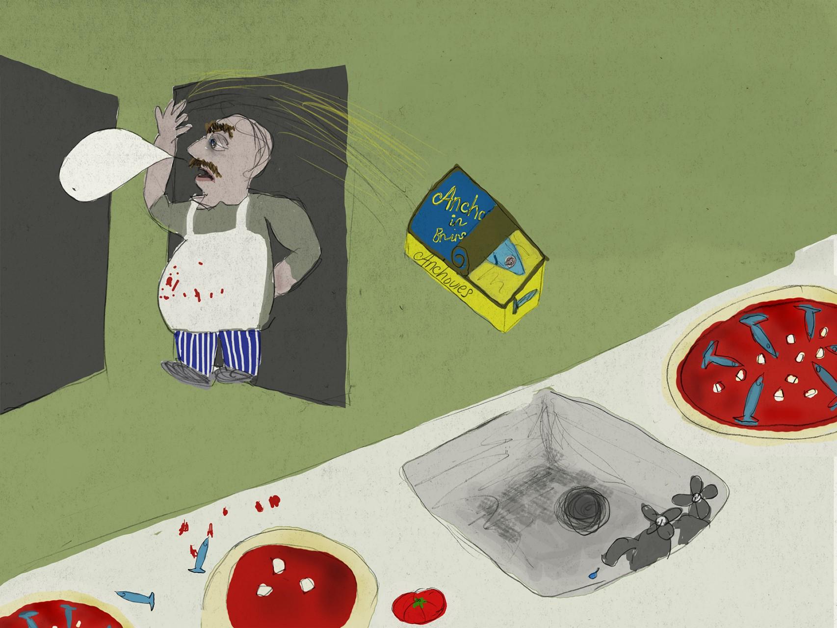 page 3f - chef chucking tin